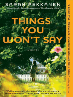 Things You Won't Say