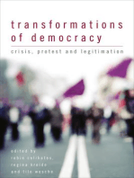 Transformations of Democracy: Crisis, Protest and Legitimation