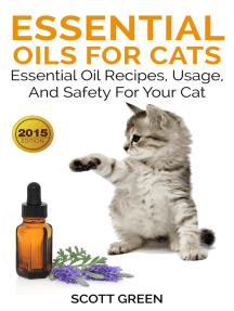 Essential Oils For Cats : Essential Oil Recipes, Usage, And Safety For Your Cat: The Blokehead Success Series
