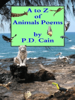 A-Z of Animals Poems