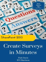 SharePoint 2013: Create Surveys in Minutes