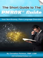The Short Guide to The PMBOK Guide