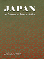 Japan - An Attempt at Interpretation
