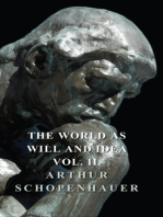 The World as Will and Idea - Vol. II.