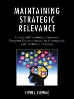 Maintaining Strategic Relevance
