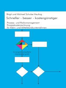 Schneller - besser - kostengünstiger: Prozess - und Risikomanagement, Prozesskostenrechnung für Klein- und Mittelstandsunternehmen