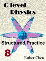 O level Physics Structured Practice 8