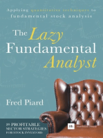 The Lazy Fundamental Analyst: Applying quantitative techniques to fundamental stock analysis