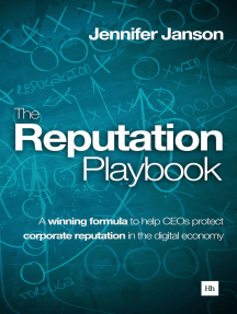 The Reputation Playbook: A winning formula to help CEOs protect corporate reputation in the digital economy