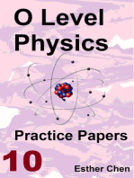O Level Physics Practice Papers 10