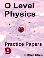 O level Physics Practice Papers 9