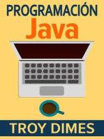 Programación Java - Una Guía para Principiantes para Aprender Java Paso a Paso