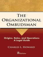 The Organizational Ombudsman