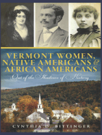 Vermont Women, Native Americans & African Americans