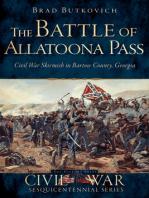 The Battle of Allatoona Pass