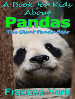 A Book For Kids About Pandas