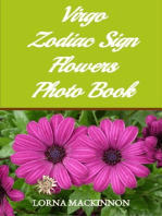 Virgo Zodiac Sign Flowers Photo Book