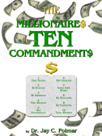 The Millionaire's Ten Commandments