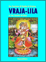 Vraja-Lila The Pastimes Of Radha & Krishna In The Garden Of Eden