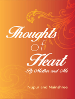 Thoughts of Heart — by Mother and Me