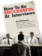 How To Be Successful At Interviews