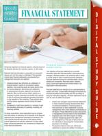 Financial Statements (Speedy Study Guides)