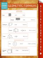 Geometric Formulas (Speedy Study Guides)