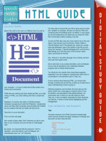 HTML Guide (Speedy Study Guides)