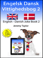 Engelsk Dansk Vittighedsbog 2 (English Danish Joke Book 2)