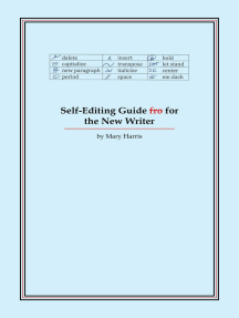 Self-Editing Guide for the New Writer