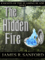 The Hidden Fire (Knights of the Flaming Blade #2)