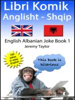 Libri Komik Anglisht- Shqip 1 (English Albanian Joke Book 1)