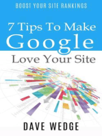 7 Tips To Make Google Love Your Site