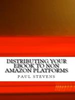 Distributing your eBook to Non Amazon Platforms