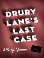 Drury Lane's Last Case