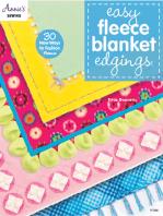 Easy Fleece Blanket Edgings