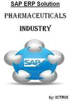 SAP ERP SOLUTION For Pharmaceuticals industry