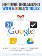Getting Organized with Google's Tools