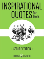 Inspirational Quotes for Teens