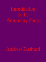 Introduction to the Autonomy Party