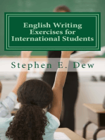 English Writing Exercises for International Students