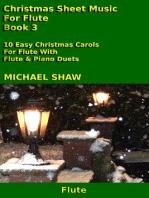Christmas Sheet Music For Flute