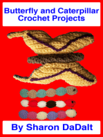 Butterfly and Caterpillar Toys Crochet Projects