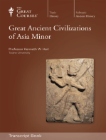 Great Ancient Civilizations of Asia Minor (Transcript)