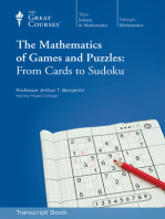 The Mathematics of Games and Puzzles (Transcript)
