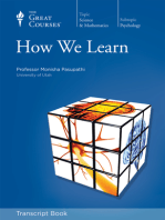 How We Learn (Transcript)