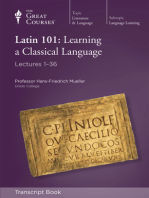 Latin 101: Learning a Classical Language (Transcript)