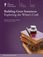 Building Great Sentences (Transcript)