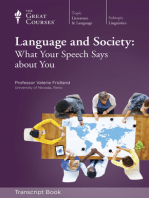 Language and Society (Transcript)