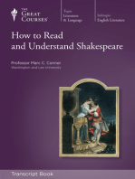 How to Read and Understand Shakespeare (Transcript)
